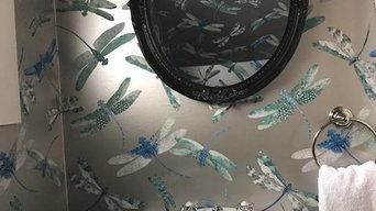 Dragonfly Powder Room