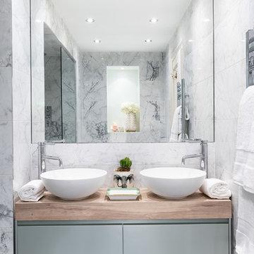 Dramatic Knightsbridge Bathrooms Transformation