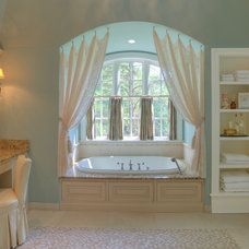 Traditional Bathroom by Drapery Connection