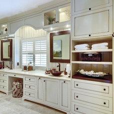 Transitional Bathroom by K & K Custom Cabinets LLC