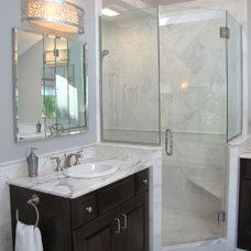 Transitional Bathroom by Imperial Stone of New York, Inc.