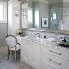 Contemporary Bathroom by Savvy Decor