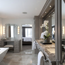 Traditional Bathroom by Casey's Creative Kitchens