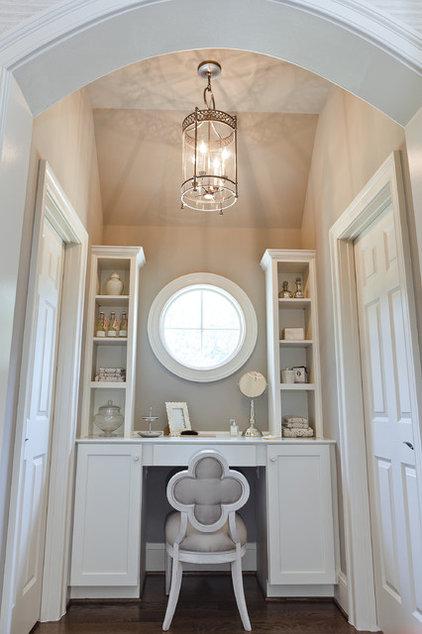 Transitional Bathroom by Dream House Studios