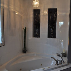 Contemporary Bathroom by Isabel Beattie @ K Cabinets Oakville