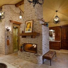 Rustic Bathroom by USI Design & Remodeling