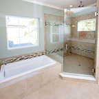 New England Ocean View - Beach Style - Bathroom - Boston - by Carpenter & MacNeille