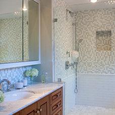 Contemporary Bathroom by Kropat Interior Design