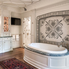 Traditional Bathroom by Peter Zimmerman Architects