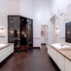 Contemporary Bathroom by Tamara Leigh Photography