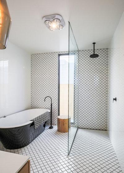 Ecléctico Cuarto de baño by Rikki-Jo Photography