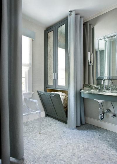 10 astuces pour optimiser les volumes d 39 une petite salle for Modele de chambre de bain