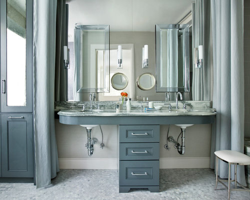Bertch bath cabinets houzz for Bathroom cabinets singapore