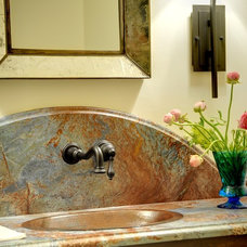 Traditional Bathroom by Linda MacArthur, Architect