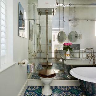 Ispirazione per una grande stanza da bagno vittoriana