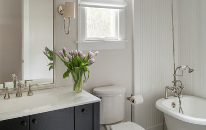 Watch a Houzz Editor Discuss 4 Small-Bathroom Design Ideas