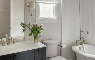 Watch a Houzz Editor Discuss 4 Small-Bathroom Design Ideas