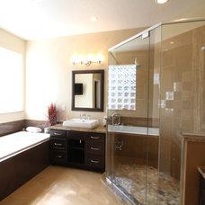 Traditional Bathroom by KBF Design Gallery