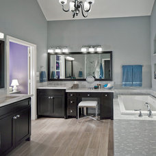 Transitional Bathroom by USI Design & Remodeling