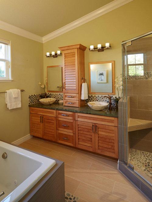 Arts and crafts bathroom design ideas renovations for Arts and crafts style bathroom design