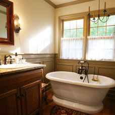 Craftsman Bathroom by Dream Baths by Kitchen Kraft: Al Deen