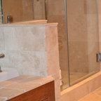 Tile Bathroom Shower Mediterranean Bathroom San Diego By Steigerwald Dougherty