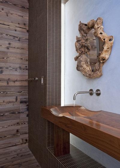 Contemporary Bathroom by DUCHATEAU Floors