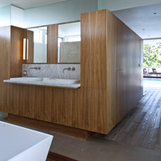 Modern Bathroom by DuChateau Floors
