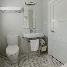 Traditional Bathroom by Trochatos Design