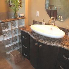 Contemporary Bathroom by Legal Eagle Contractors
