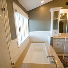 Traditional Bathroom by Long Kitchen & Bath Design Northville