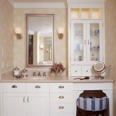 Traditional Bathroom by Sylco Cabinetry