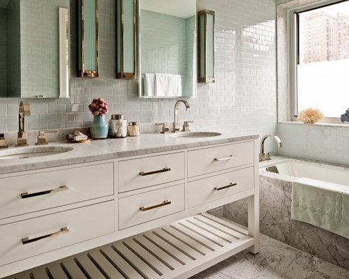 Bathroom Vanity Open Shelves vanity open shelves | houzz