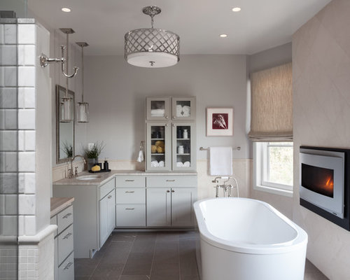 bathroom ceiling light design ideas  remodel pictures  houzz, Bathroom decor