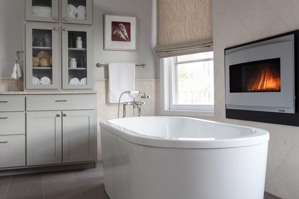 Transitional Bathroom by Samantha Friedman Interior Designs