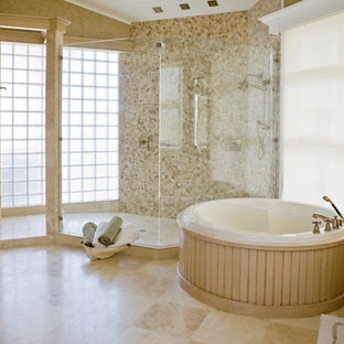 Inspiration for a timeless bathroom remodel in Orange County