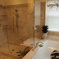 Mediterranean Bathroom by HP Builders, Inc