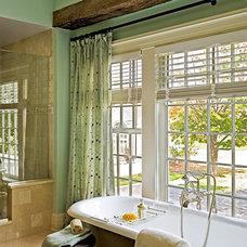 Farmhouse Bathroom by ECOterior Solutions