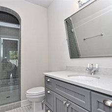 Craftsman Bathroom by T. McIntyre Associates, Inc.