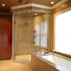 Contemporary Bathroom by Crawford Builders