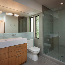 Eclectic Bathroom by Dyna Contracting