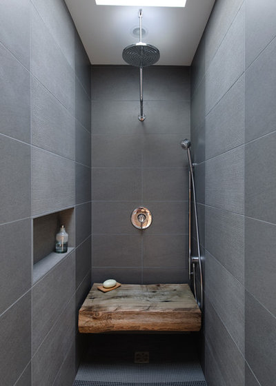 Industriel Salle de Bain by Dyna Contracting