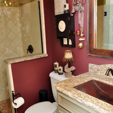 Contemporary Bathroom by Kitchens Etc. of Ventura County