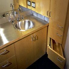 Modern Bathroom by E. Cobb Architects