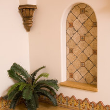 Mediterranean Bathroom by James Glover Residential & Interior Design