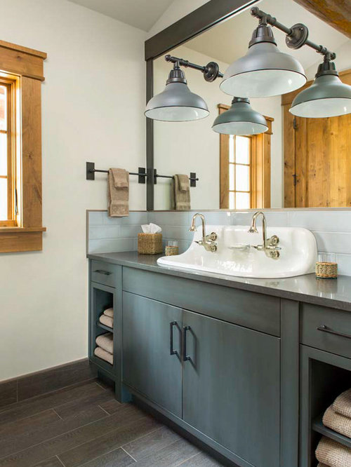 rustic grey kitchen cabinets best rustic bathroom with gray cabinets design ideas 25743