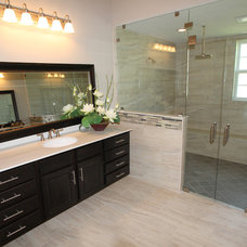 Traditional Bathroom by CornerStone Homes