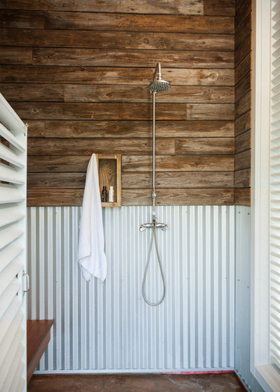 Beach Style Bathroom by Andrew Sherman Photography