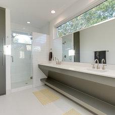 Contemporary Bathroom by Durham Builders