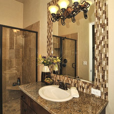 Mediterranean Bathroom by Innovative Custom Homes